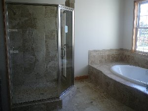 ramsay and son construction custom tile work and bathrooms